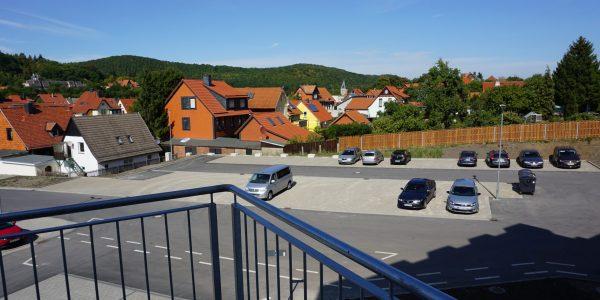 Parkplatz Aussenansicht